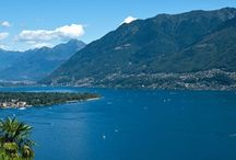 Lake Maggiore / Crystal clear water and lots of green areas...  High peaks, green valleys and flowers of all colours. On Lake Maggiore you can have fun in nature, but you can also relax