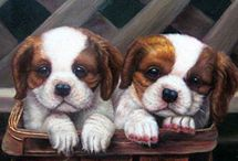 Pet Portraits from Photos / Pet oil paintings
