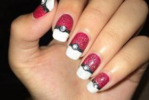 Nail Art pokemone