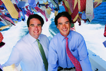 #TieOneOnTuesday / Ties will always have a special place in our hearts—and around our necks. After all, it was our ties, with designs representing the fun and finer things in life—from tropical beverages to sunset cruises—that got vineyard vines started back in 1998. Please join us on #TieOneOnTuesday and show us how you style your ties and bow ties! / by vineyard vines