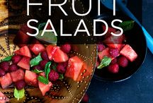 fruit salads / by Cheryl Miller