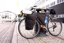 Just front panniers