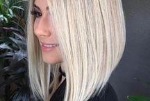 Blonde bobs