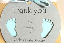 Baby shower tarjeta