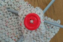 knitted jewelry ,creative crafts