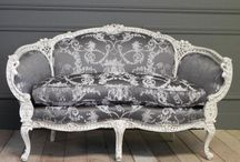 Victorian - Damask Furniture