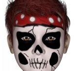 maquillage halloween enfant squelette
