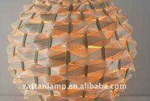 Lámparas / Panel de inspiración para una lámpara decorativa de mesa