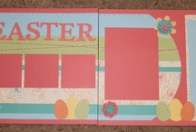Easter Scrapbooking Layouts