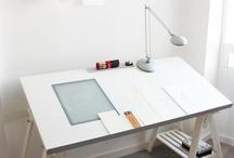 Kid's Art Desk