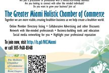 Miami Holistic Chamber / The Miami Holistic Chamber is here to serve YOU and your holistic or eco-friendly business, with special programs and events to grow your business and facilitate your abundance