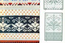 vzory - pletení a háčkování