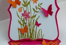 Butterflies / Cards or anything butterflies - great for colour ideas