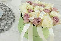 Květiny v krabičce - flowers in box / Luxusní a netradiční dárek?