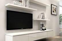 Interiores. Tv.