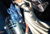 Leia and Padme