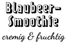 Smoothies + Shakes