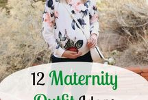 Maternity Outfits / maternity outfits | pregnancy style | maternity clothes | second trimester pregnancy outfit ideas | maternity style | pregnancy clothes | outfits for pregnancy | maternity capsule wardrobe | capsule wardrobe for pregnancy |