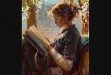Le donne e la lettura nell'arte
