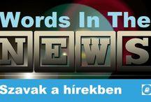 Haladó szókincs - Szavak a hírekben