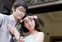 bride's photo 緑ドレスバージョン / ys floral deco