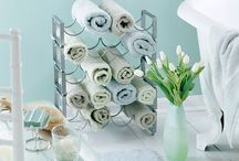Bathroom / Towel storage