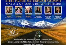 Steel Horse Sisterhood / Join the fastest growing directory of women riders across the United States.  The Steel Horse Sisterhood is about never being alone.