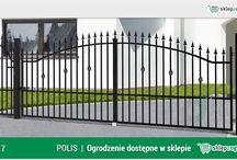 Ogrodzenie klasyczne POLIS