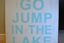 Boat & Lake, Camping, Outdoor, Summer Fun / by Krista Weisner