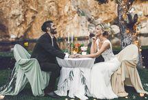 Романтический ужин в Греции