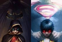 DC Comics superheroes and villains