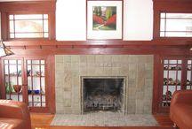 Batchelder Fireplaces in San Diego / Batchelder fireplaces by San Diego masonry contractor Paul Walker of Custom Masonry & Fireplace Design in San Diego, California