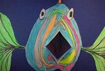 Children's art on wildlife / by Angie Ari Coll