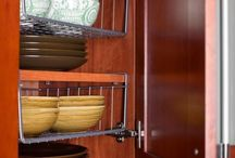 small spaces storage / by Vicki Hagen