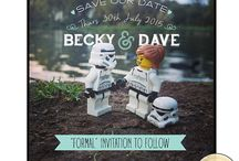 Save the Date ideas - Fiona & Kweku