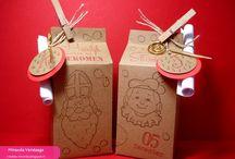 Gift bags milk carton