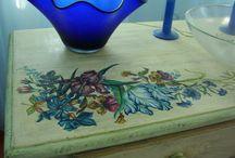 Pictura si antichizare de mobilier