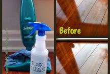 Cleaning tips / by Tanya Schulte