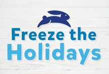 Freeze The Holidays / Capture your family's merriest moments and join our Freeze the Holidays contest! Tag your photos with @Blue_Bunny and #FreezeTheHolidays for a chance to win the ultimate Blue Bunny Ice Cream Party-in-a-Box!
