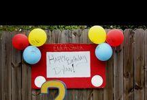 Maddox's 2nd birthday!! / by Ashley Raths