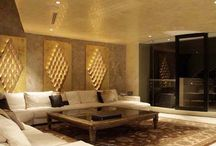 Go for Gold with Gilding the Lily Interiors / Gold Wallpapers and Room Sets
