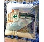 Hand painted Pillows   Painted Pillows / What would you love to have painted on pillows? How would you like to have a picture of your favorite vacation spot, pet, child, grandchild painted on a hand made pillow? These hand painted pillows are great items to give as gifts, especially if they are tailored for your special requests, and will definitely be a conversation piece in any home.