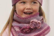 Kids Crochet - Hats/Scarves/Cowls