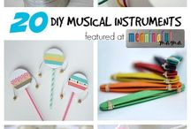 Musical instruments - home made