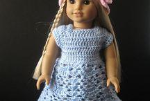 Crochet 4 Dolls