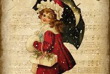 Vintage Christmas - Natale vintage - Vintage Noël