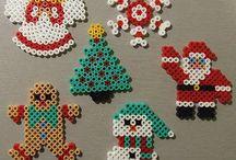 Noël perles à repasser