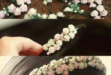 Gelin Taçları ve Buketleri / Bride Crowns and Bouquets
