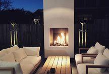 fireplace ideas outside