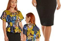 Peplum Tops & Dresses / Peplum tailoring creates a balanced silhouette, accentuates beautiful curves and enhances both curvy and boyish frames alike.